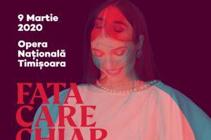 """Alexandra Ușurelu, """"Fata care chiar există"""", în concert la Timişoara"""