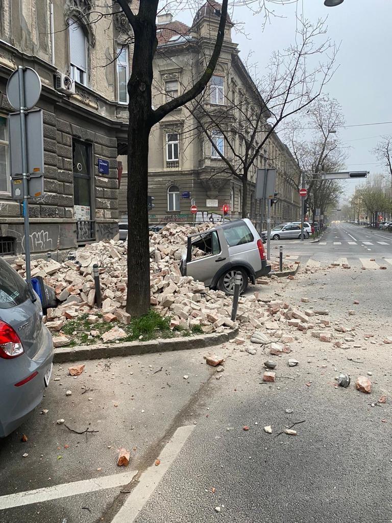 Două cutremure la Zagreb. Pagubele sunt serioase