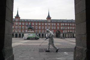 Madridul, următorul mare focar după Lombardia