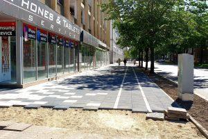 Primăria consideră abuzivă decizia Direcţiei pentru Cultură în privinţa trotuarelor