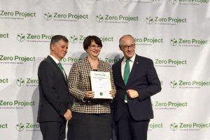 """Fundaţia """"Pentru Voi"""", premiată la """"Zero Project Awardes 2017"""""""