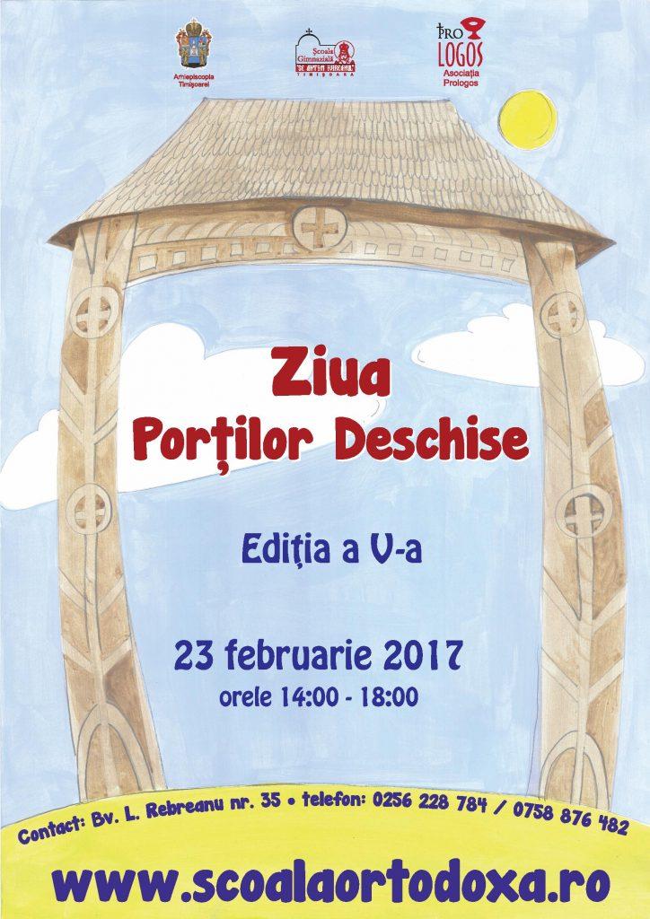 Ziua Porților Deschise la singura școală ortodoxă din Timișoara