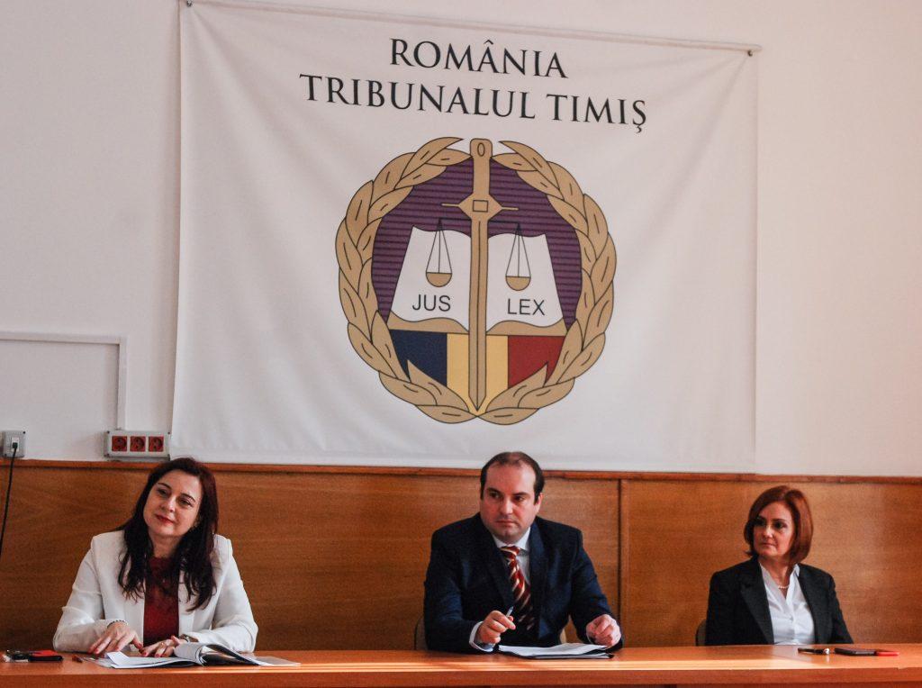 Volum mare de muncă la Tribunalul Timiș. Medie de 600 dosare pe an pentru un judecător