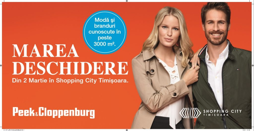 La Timișoara se deschide un renumit magazin cu haine de firmă, unic în regiune