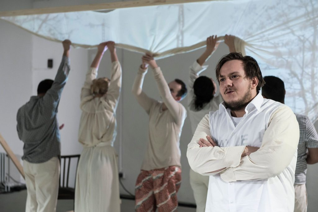 Flavius Retea, actor al Teatrului Național trimisoara, pe scena Staatstheater Braunschweig