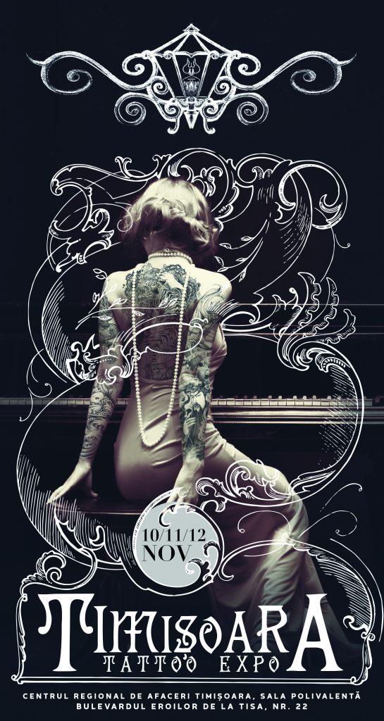 Primul eveniment dedicat artei tatuajelor din vestul țării va avea loc la Timișoara, în această toamnă