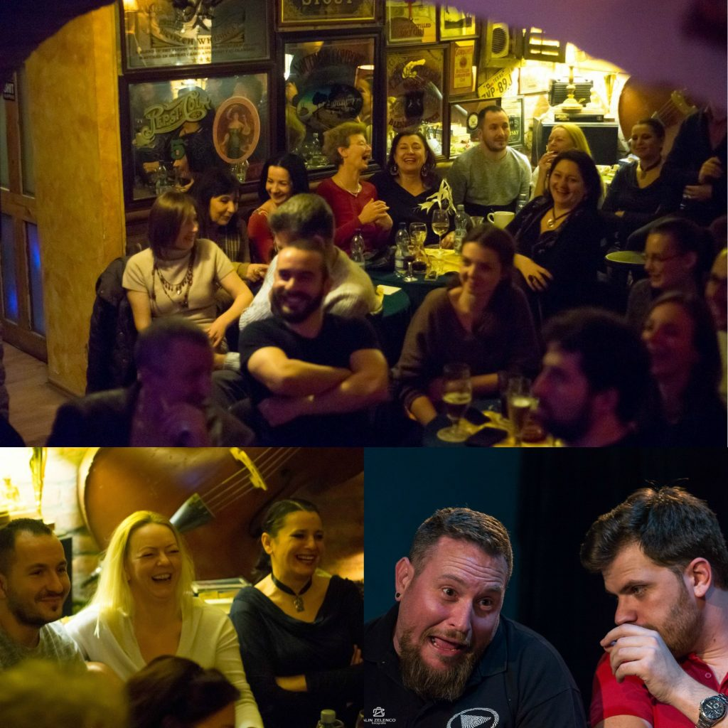 Ora de râs.Trupa Just Push Play revine la Timișoara cu un super show de improvizație