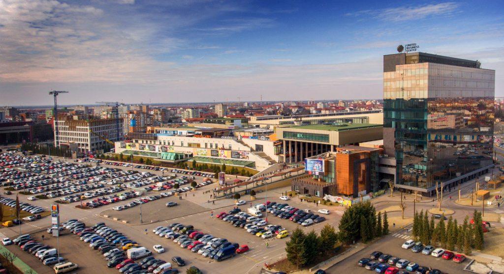În primăvară, Iulius începe lucrările la o parcare supraetajată cu 900 de locuri