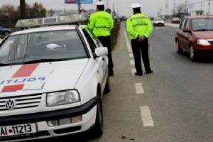 Razii ale polițiștilor de la Rutieră în tot județul