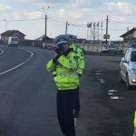 Peste 200 de vitezomani sancționați de polițiștii timișeni