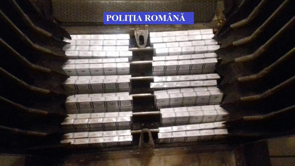 Țigări de contrabandă, ridicate de poliţiştii din Făget