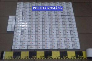 Percheziţii la traficanţi. 500 de pachete de ţigări au fost ridicate