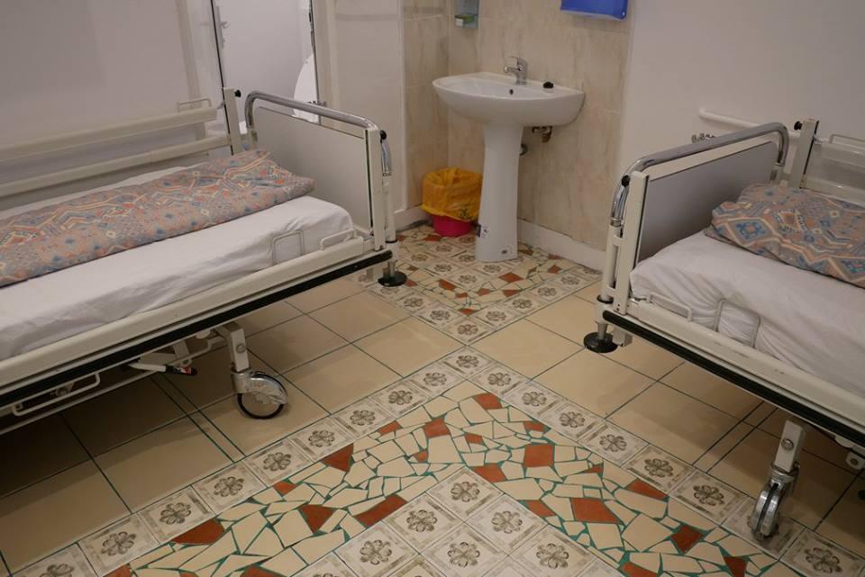 Lucrările de renovare a două saloane din cadrul Spitalului Clinic de Boli Infecțioase continuă