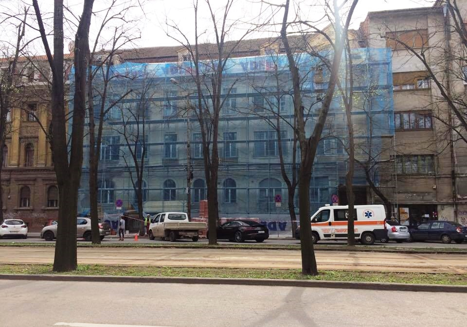 Lucrări de reabilitare a Clinicii ORL a Spitalului Municipal din Timișoara