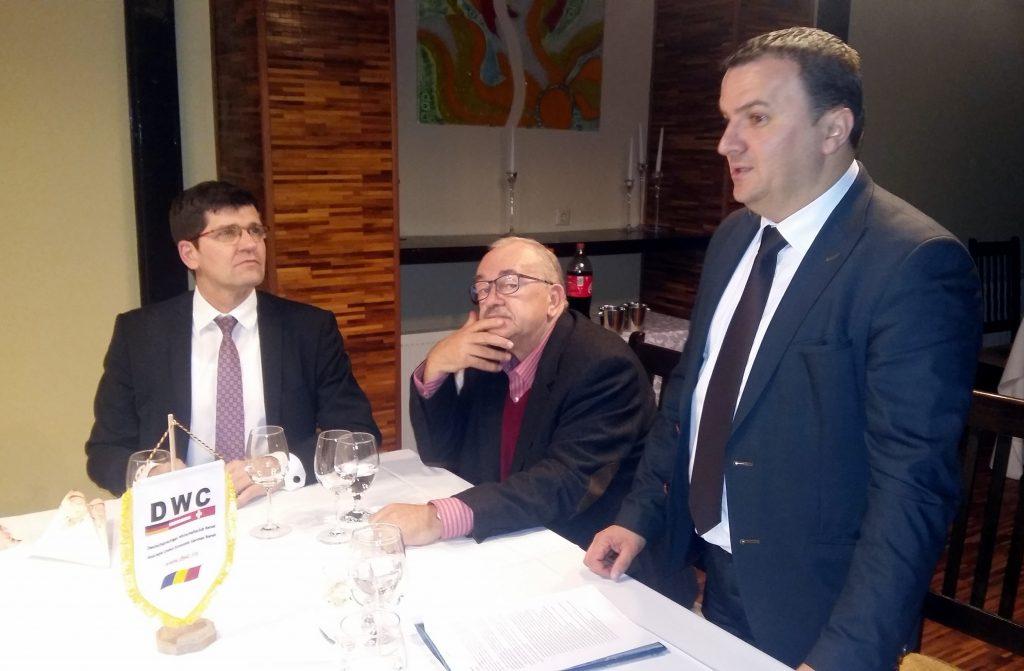 Președintele CJT, Călin Dobra, în dialog cu mediul de afaceri german