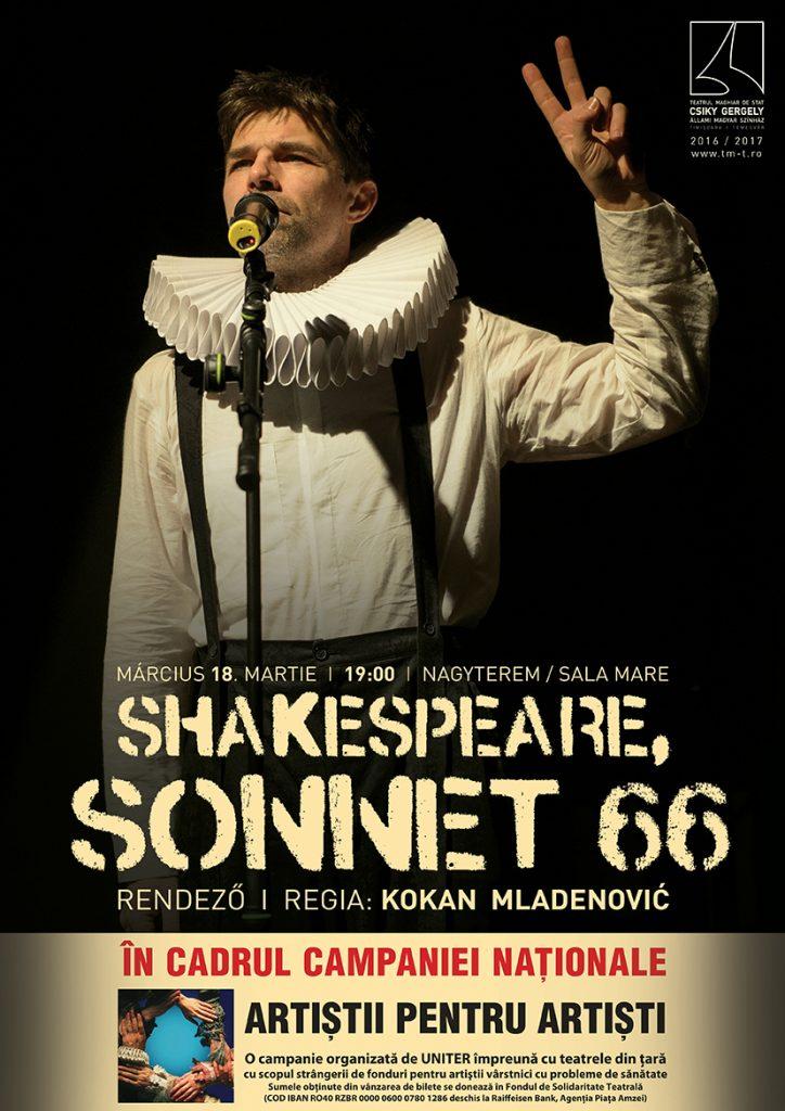Shakespeare pentru solidaritatea de breaslă