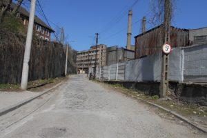 Trafic rutier închis pe strada Dealul Mare din Reșița