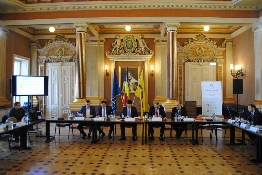 Membrii Consiliul pentru Dezvoltare Regională Vest s-au întâlnit la Arad