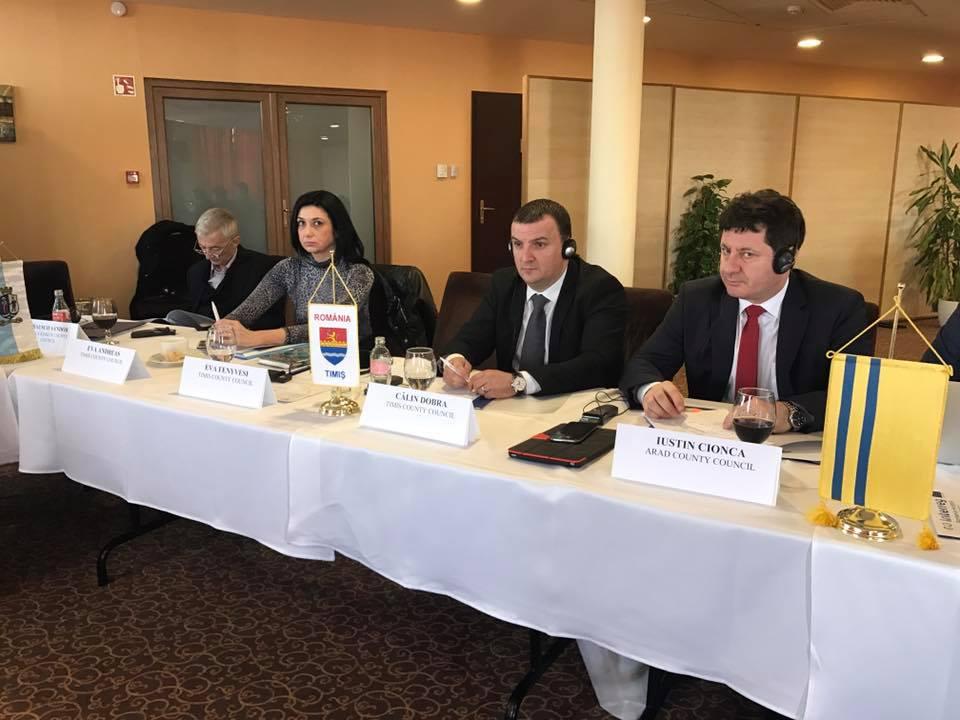 Proiectele transfrontaliere sunt importante pentru liderul CJT