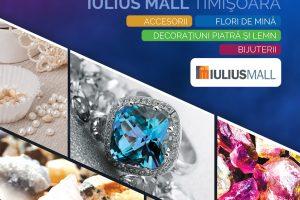 Cadouri strălucitoare pentru femei, la EXPOMINERALIA, din mall