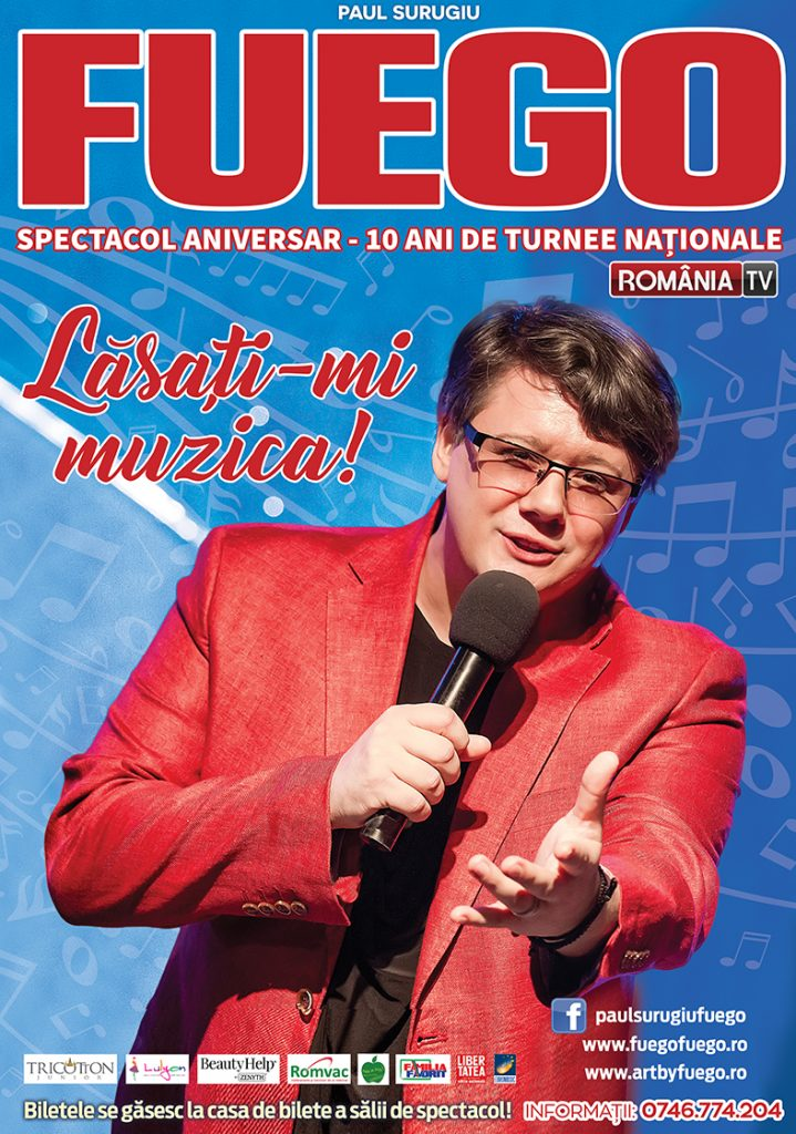 Fuego va susține un concert la Timișoara