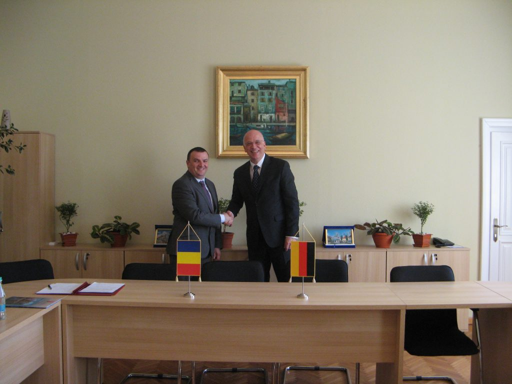 Noul ambasador al Germaniei, în vizită la CJT