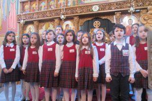 Mini-recital al elevilor în zi de mare sărbătoare