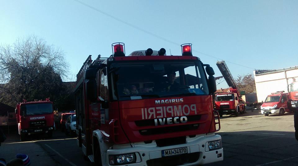 Misiuni de stingere a incendiilor de vegetație ale ISUJ Arad. Unde au acționat pompierii