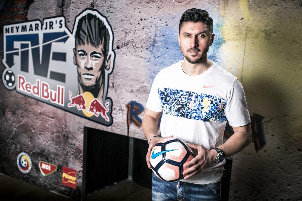 Ciprian Marica, ambasadorul Neymar Jr's Five în România