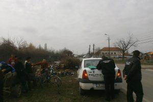 Polițiștii locali au trecut la ridicarea căruțelor!