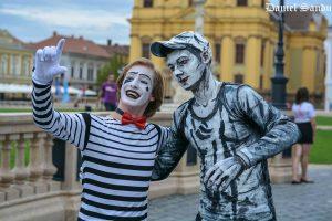 Arta stradală revine în Timişoara, la CheckART Carnaval