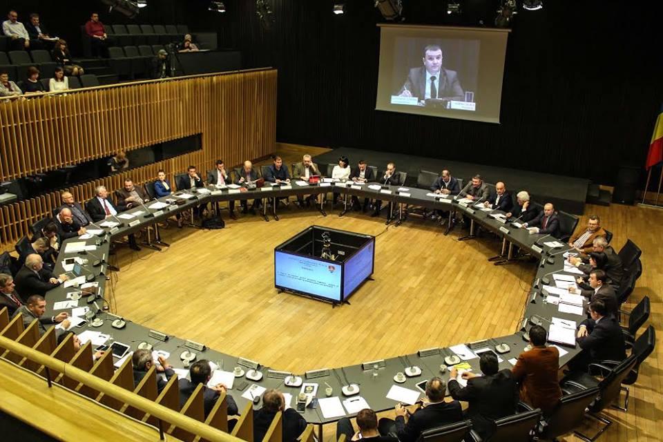 Consiliul Județean a transmis LIVE prima ședință de plen