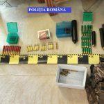Contrabandiști de arme, săltați de polițiștii timișeni
