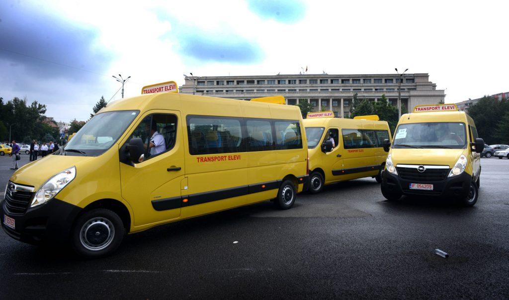 România va dona 96 de microbuze școlare Republicii Moldova