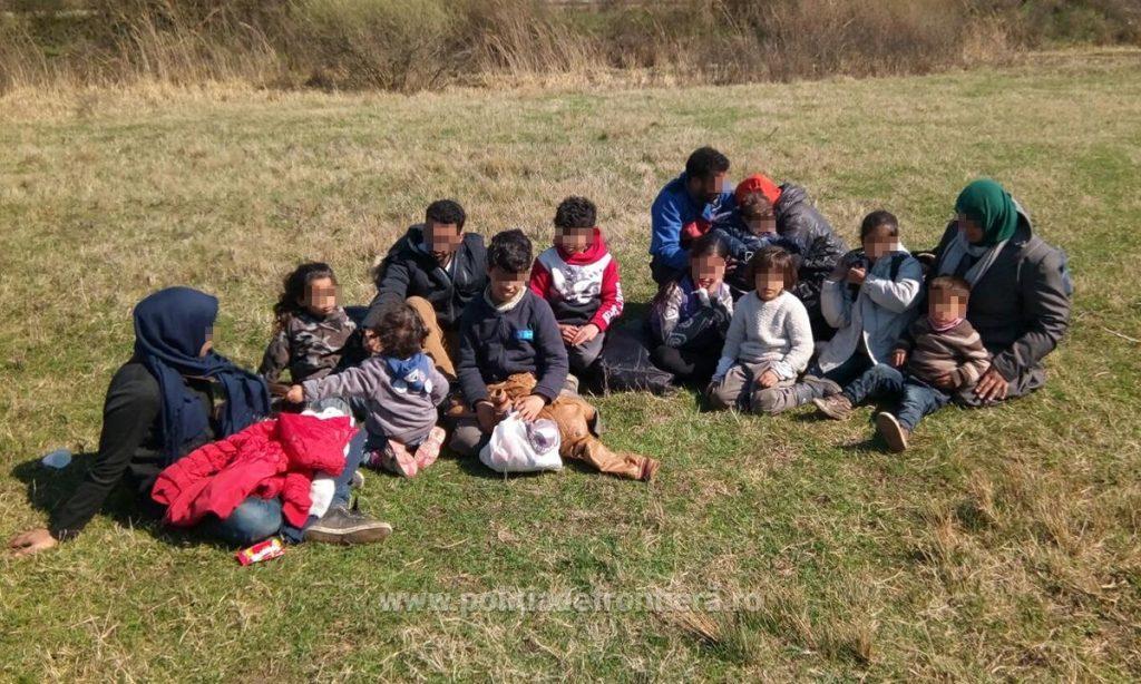 14 cetăţeni din Yemen, Irak si Siria, dintre care 9 copii, depistaţi la frontiera cu Serbia