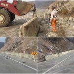 Direcția de Drumuri a montat parapete pe Clisura Dunării