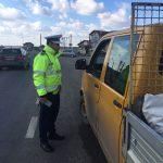 Poliţia Rutieră a amendat aproape 1.000 de şoferi în ultimele zile