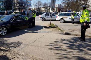 Acțiune comună a Poliției Locale și Rutieră pentru descongestionarea circulației în zona Spitalului Județean
