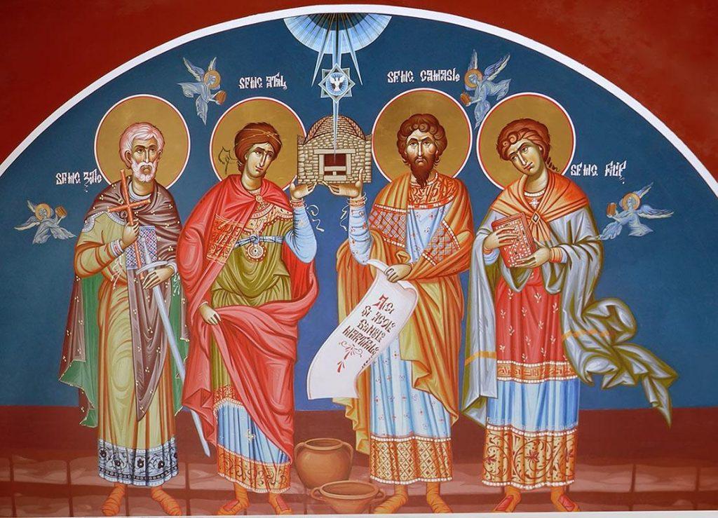 Biserica îi sărbătoreștepe Sfinţii 40 de Mucenici din Sevastia