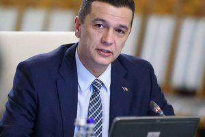 """Premierul Sorin Grindeanu:""""Trebuie să ne creștem copiii într-un mediu sigur și lipsit de violență"""""""