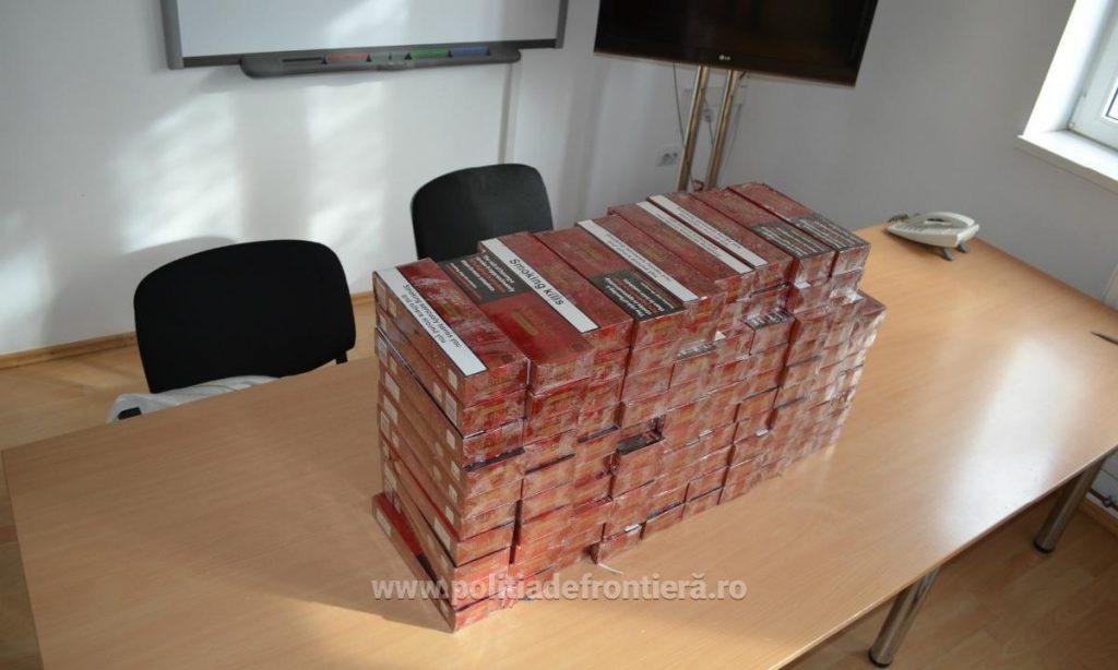 Ţigări de contrabandă, confiscate de poliţiştii de frontieră cărăşeni. Cât valorează captura