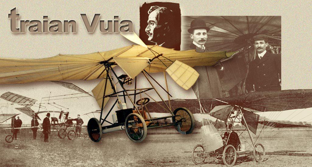 Eveniment major la Bruxelles, la 111 ani de la primul zbor al lui Traian Vuia!