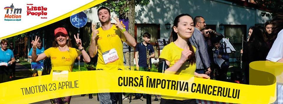 """Timișorenii, invitați la """"Cursa împotriva cancerului"""""""