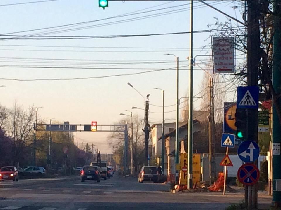 S-a deschis traficul rutier pe două benzi în Calea Martirilor