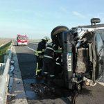 Accident rutier pe A1, sensul Timișoara-Lugoj