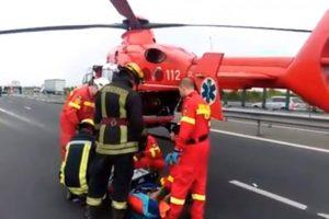 Accident rutier pe A1, între Arad și Pecica