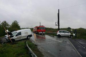 Accident rutier lângă Sânnicolau Mare