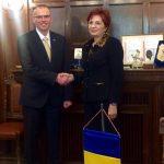 Vizită oficială la Camera de Comerț, Industrie și Agricultură Timiș. Colaborare economică cu Slovenia