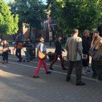 Protest spontan la Timișoara
