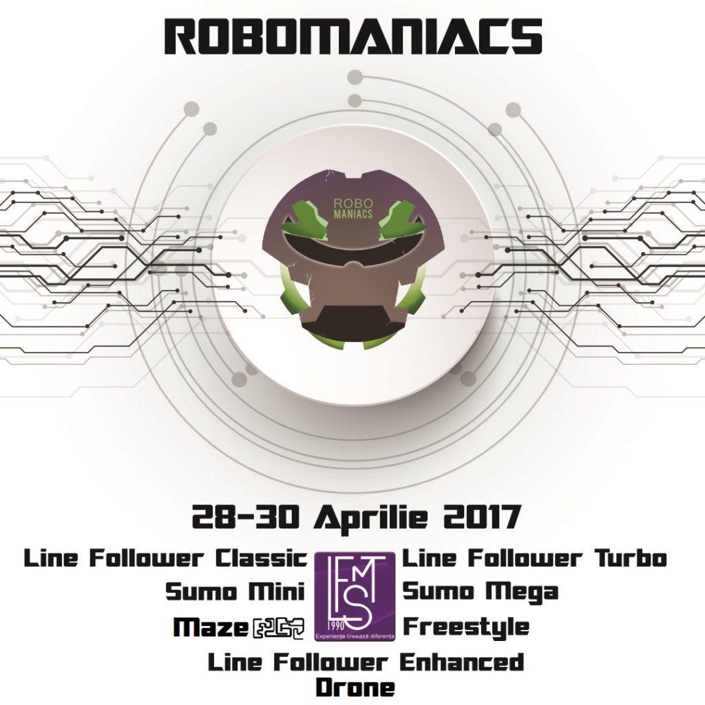 Shopping City Timișoara își invită vizitatorii la RoboManiacs, competiție de roboți inteligenți